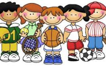 kids in sports uniforms