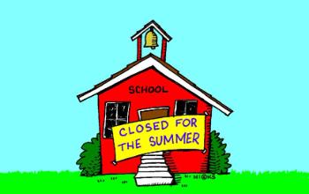 School closed for Summer