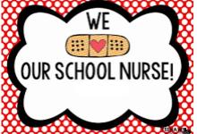 we love our school nurses